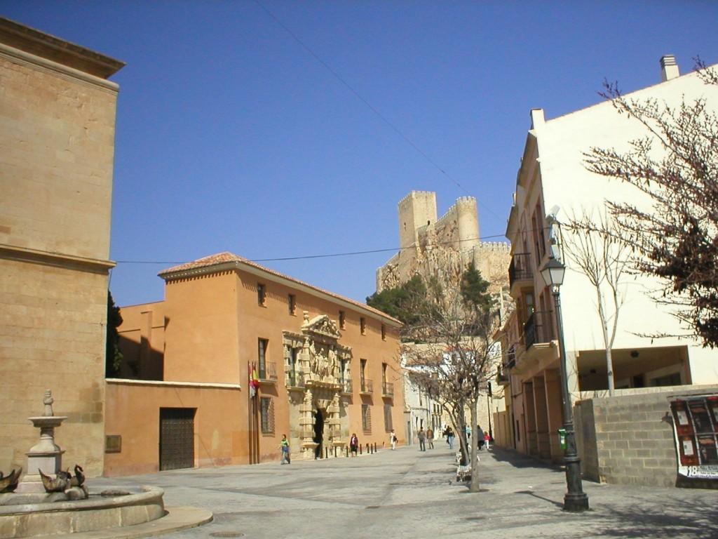Casa Grande o Palacio de los Condes de Cirat - Monumentos de Almansa - Hostal el Estudio